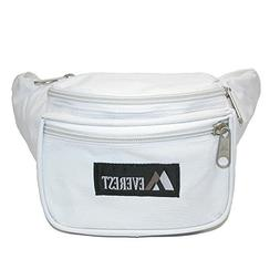 Everest Durable Fabric Waist Packs , White