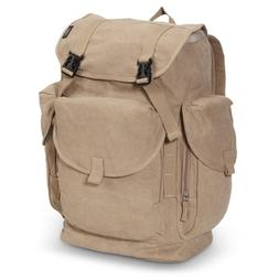 Everest Luggage Rugged Canvas Backpack KAK