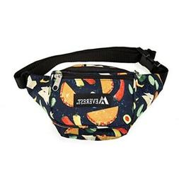 Everest Signature Pattern Waist Pack, Tacos, One Size