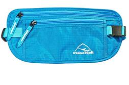 HOPSOOKEN Travel Money Belt: Waist Pack for Running and Cycl