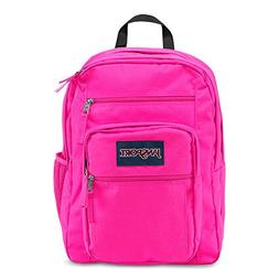 JanSport Big Student Backpack in ULTRA PINK ~ NEW ~ school h