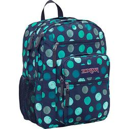 Jansport Big Student Solid Blue Topaz Backpack NWT