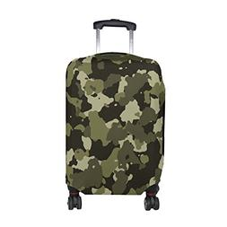 Military Camo Camouflage Pattern Print Travel Luggage Protec