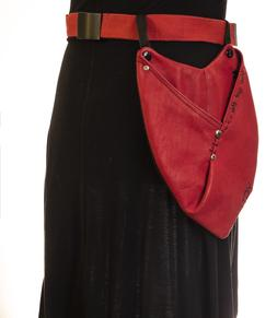YGT pockets with adjustable straps/belt LEATHER BETTER than