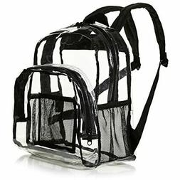 AmazonBasics Stadium Approved Mini Transparent Backpack Bag