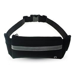 Athletic Running Belt Keep Your Cell Phone Money & Key Safe
