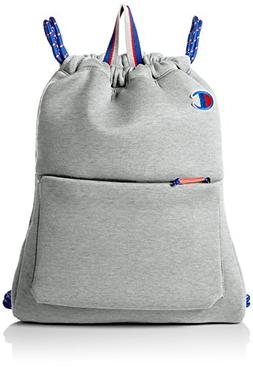 Champion Men's Attribute Gym Sack, Light Grey, OS