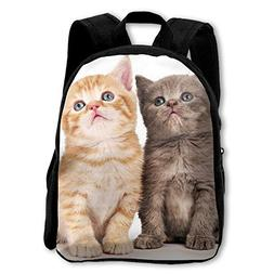 Kids Backpack Baby Cats Outdoor Shoulder Children School Bag