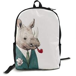 Gaosus Backpack Rhino in Teal Travel Water Resistant School
