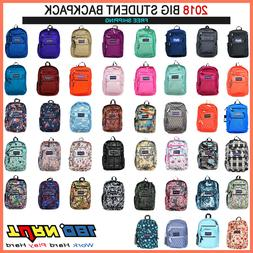 JANSPORT BIG STUDENT BACKPACK ORIGINAL 100% AUTHENTIC SCHOOL