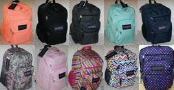 JANSPORT BIG STUDENT BOOK BAG BACKPACK 100% AUTHENTIC NWT  M