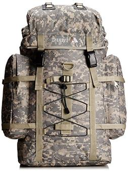 Everest Digital Camo Hiking Backpack, Digital Camouflage, On
