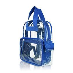DALIX Clear Backpack for School Transparent Bags Girls Boys