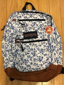 JanSport JS0A2SDD4Z9 Cool Student Backpack, White Field Flor