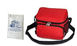 Everest Cooler/Lunch Bag red ice pack