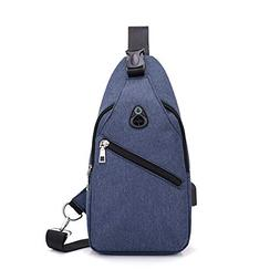 wenyujh Small Crossbody Sling Backpack, Anti Theft Backpack
