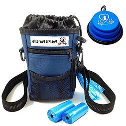 Pet Fit For Life Dog Treat Training Walking Pouch w/Exclusiv