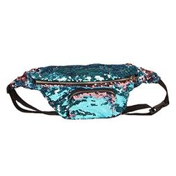 Lavany Elegant Women Waist Pack Outdoor Sports Casual Double