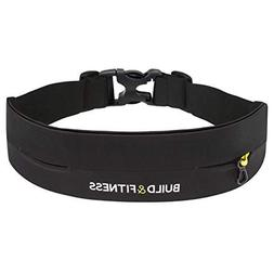 Build&Fitness Exercise Belt for Running, Cycling, and More