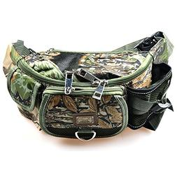 LUREMASTER Fishing Bag Multiple Pocket Waist Pack Adjustable