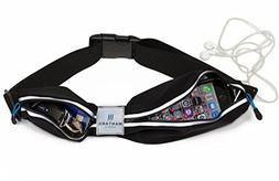 Mantaro Fitness Running Belt WATERPROOF Waist Pack Sports Jo