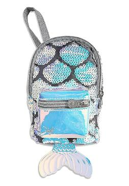 Justice For Girls Sequin Mermaid Mini Backpack Wristlet Purs