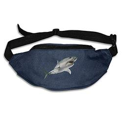Kuglobal Great White Shark Outdoor Running Waist Bag Pack Sp