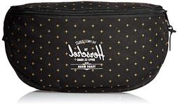 Herschel Supply Co. Sixteen Waist Pack, Black Gridlock Gold,