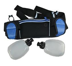 Hydration Belt for Running with Two 6-oz Bpa-free Bottles, F