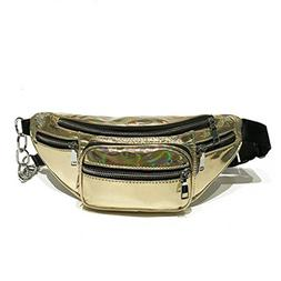 kingsamal Leather Waist Packs For Teenage Girls PU Leather M
