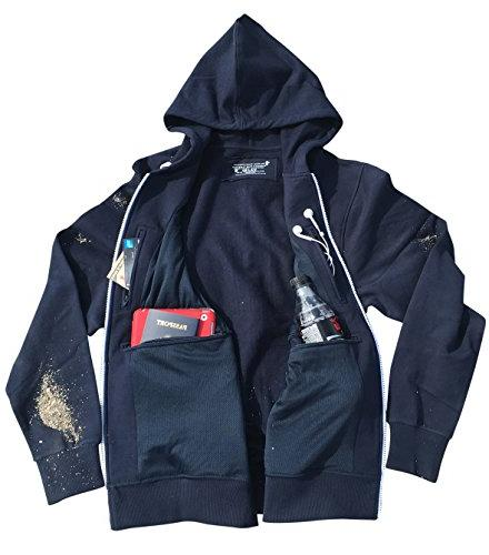 Clever Travel Companion Smart Travel Hoodie With Multiple Co