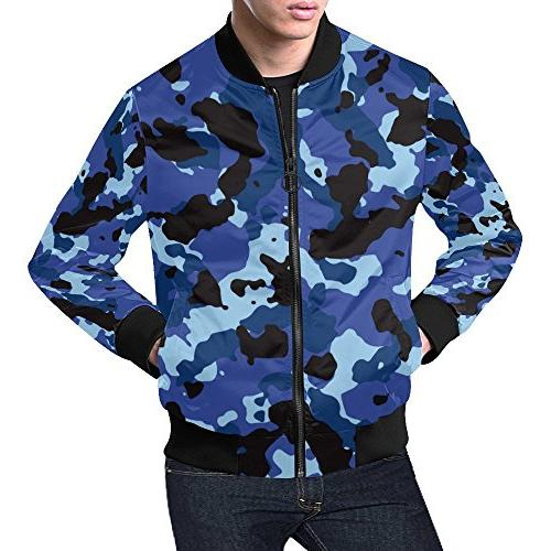 Military Camo Camouflage Pattern Print Men's 3D Printed Full