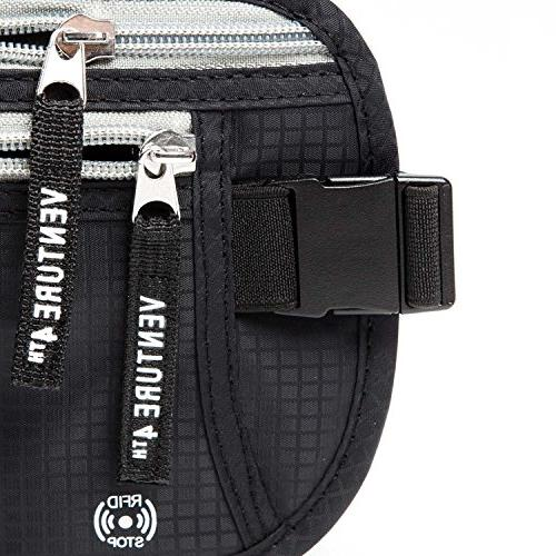 Travel Money Belt - When - Hidden Waist RFID Is For and Twin Pack