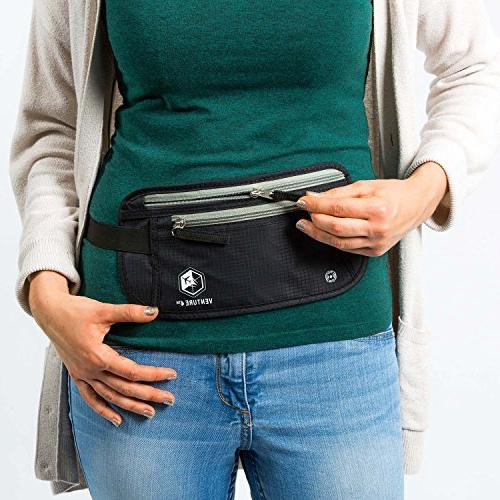 Travel Keeps Cash When Traveling Waist RFID Designed For Anti-Theft and