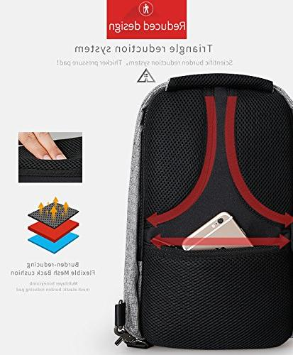 Anti Theft Shoulder Body Backpack Lightweight Casual