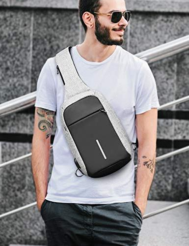 Anti Bag Shoulder Chest Body Backpack Lightweight Casual