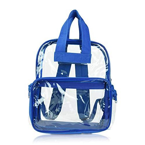 DALIX Clear School Bags Boys Pack