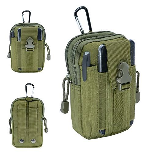 military tactical waist molle pouch