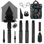 Iunio Military Portable Folding Shovel  and Pickax with Tact