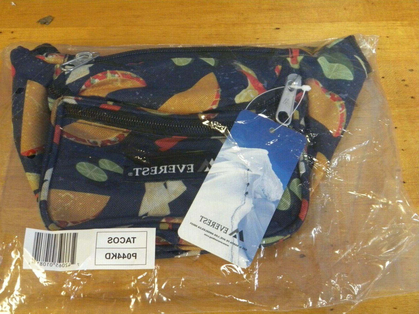 Everest Signature Waist Pack, Tacos, One Size