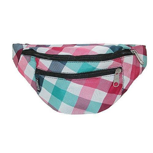 Everest Printed Pattern Waist Pack