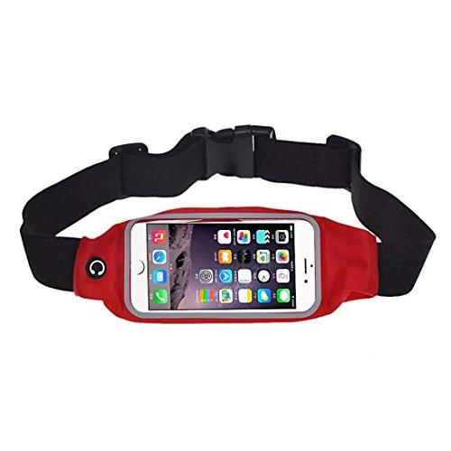 running bag gym waist