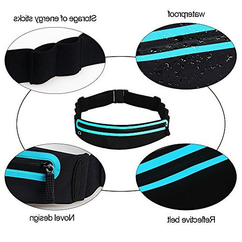 Filoto Running Resistant Running Waist for and Fitness Xs 7 Belt Sport Pouch