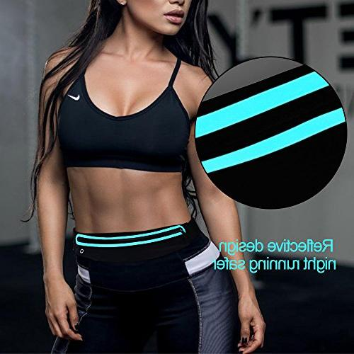 Filoto Belt, Resistant Running for Women and Fitness Workout Adjustable Xs Max X 7 Sport Pouch