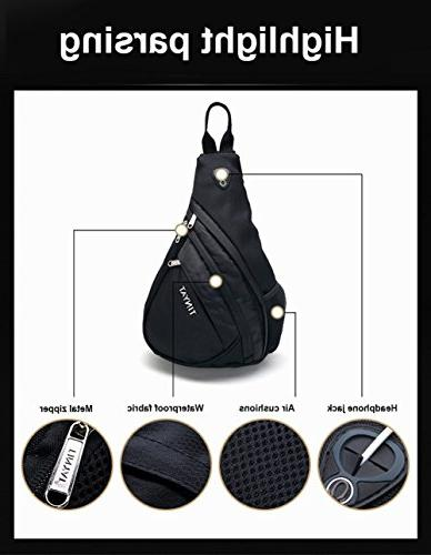 Sling Chest Backpack Multi-function Shoulder Backpack for / Camping/Commuting / Outdoors Sports T509
