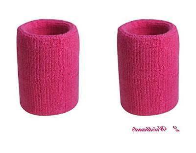 Kimberly's Neon Pink Wristbands Leg Set
