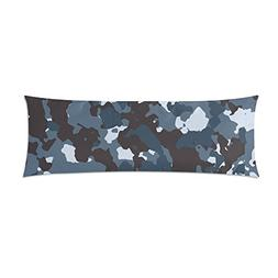 Military Camo Camouflage Pattern Print Body Pillow Cover Dec