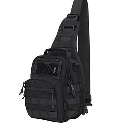 Reebow Gear Military Tactical Sling Bag Pack EDC Molle Trave
