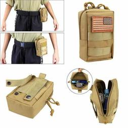 AMYIPO MOLLE Pouch Multi Purpose Compact Tactical Waist Bags