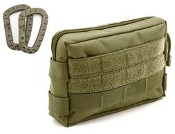 Molle Pouches - Tactical Compact Water-resistant EDC Utility
